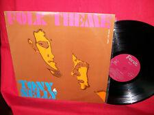 TONY & NELLY Folk Theme LP 1969 ITALY Tony Cucchiara EX