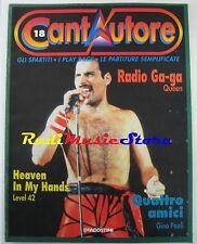 Cantautore 18 FREDDY MERCURY QUEEN LEVEL 42 GINO PAOLI no cd lp dvd mc