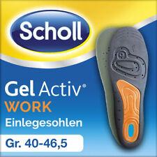 Scholl GelActiv Einlegesohlen Work Arbeit Stoßdämpfend 1 Paar Größe 35,5 - 46,5