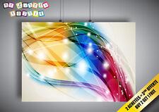 Poster Digitale Design Color Arte