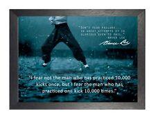 Bruce Lee 63 Hong Kong Artes Marciales actor estadounidense director de cine cotización Cartel