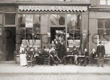 Café bar restaurant Brasserie Alsacienne - Repro photo ancienne an. 1920