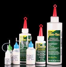 Gem-Tac Glue For Swarovski Crystals in Needle Precision Tip Bottle - Many Sizes