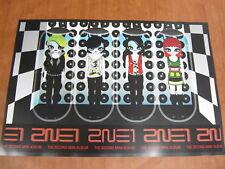 2NE1 - 2nd Mini Album [OFFICIAL] POSTER *NEW* K-POP
