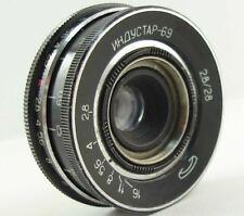 INDUSTAR-69 2.8/28 Russian Soviet USSR Wide Angle Pancake Lens M39 MMZ-LOMO #24