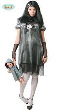ADULT FANCY DRESS COSTUME HALLOWEEN ZOMBIE WOMAN DEAD GHOST