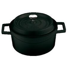 Paderno Sambonet Casseruola nera ghisa smaltata Black adatta a tutte le cotture