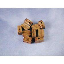 10 x Single Walnut Blocks For Model Ships Rigging