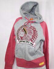 NEW Girls Juniors DAVID & GOLIATH Little Beaver Camping Hoodie Zip Up Sweatshirt