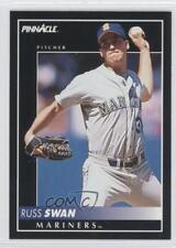 1992 Pinnacle #484 Russ Swan Seattle Mariners Baseball Card