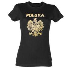 Polska Damen T-Shirt Polen Poland Warschau