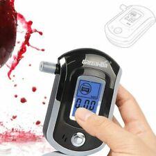 LCD Police Digital Breath Alcohol Analyzer Tester Breathalyzer Audiable AT6000 G