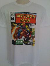 Method Man Comic Style T-shirt Ghostface killah wu-tang clan mf doom hip hop rza