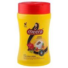 Meera herbal Hair wash powder 120gm, with 7 natural herbs, Meera shikakai