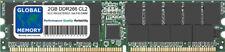 2GB DDR 266MHz PC2100 184-PIN ECC Registered RDIMM server/Workstation Memoria RAM