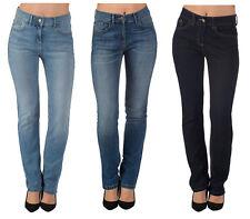 Da Donna Ex High Street Jeans Gamba Dritta 8 - 28 4 Gamba Lunghezze