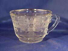 Crystal W/ Silver Trim S-Pattern Cup