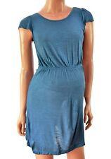 Mothercare Soft Maternity Tunic Mini Dress Top Dark Blue UK 8 10 12 14 16 18