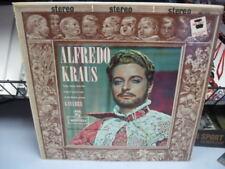 ALFREDO KRAUS SINGS GAYARRE RECORD ABLUM NM