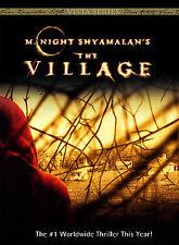 The Village M. Night Shyamalan DVD 2005 Full Frame Movie