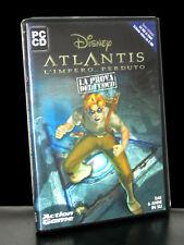 ATLANTIS L'IMPERO PERDUTO LA PROVA DEL FUOCO GIOCO USATO X PC DVD ITA 26122