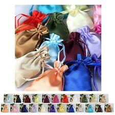"12PCS Satin Gift Bag Drawstring Pouch Wedding Favors Jewelry Bags - 3""x4"""
