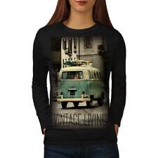 Truck Life Old Vintage Women Long Sleeve T-shirt NEW | Wellcoda