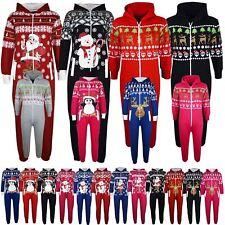 Kids Girls Boys Novelty Christmas Santa Reindeer A2Z Onesie One Piece Jumpsuit