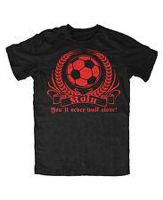 Köln Never walk.. T-Shirt Fussball Ultras WM EM Fan Pyro Kurve Block U
