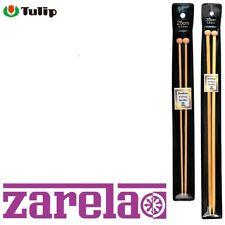 25cm y 35 CM *** Agujas de tejer de bambú de tulipán hecha en Japón *** 2-12mm