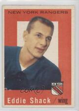 1959-60 Topps #57 Eddie Shack New York Rangers RC Rookie Hockey Card