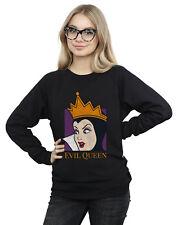 Disney Women's Evil Queen Cropped Head Sweatshirt