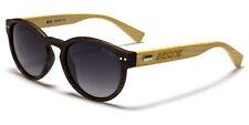 BeOne Unisex Real Bamboo Wood Frame 100% UV 400 POLARIZED Sunglasses w/FREE Case