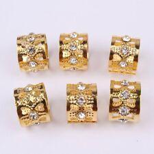 Hair Beads Golden star Pins Rings Dreadlock Cuff Clip Tibetan Fashion Jewelry uk
