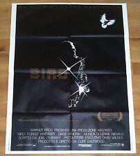 BIRD manifesto poster affiche Clint Eastwood Charlie Parker Jazz Sax Music 1988
