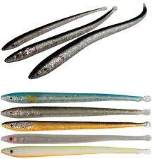 SAVAGE GEAR LB Sandeel Slugs -Größe & Farbe wählbar- 4-6Stk./Pack Sandaal Slug