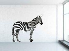 Zebra, animal, jungle, Africa style. Vinyl wall sticker decal art. Any colour.