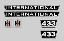 IHC Mc Cormick Traktor Aufkleber international 433 Emblem