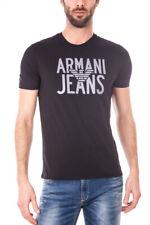 Maglietta Armani Jeans AJ T-Shirt Sweatshirt % Uomo Nero 6X6T596JPFZ-1200