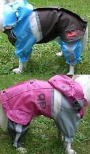 Perros Traje de lluvia con Reflector Anti Grupo nieve S m L 2L 3L 4L azul rosa
