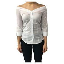 AND camicia donna cotone bianca mod D160E820T