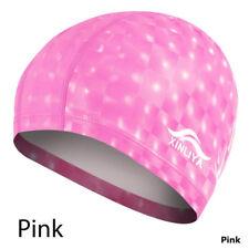 New 7Color Durable Flexible Sporty Latex Swimming Waterproof Cap Bathing Hat