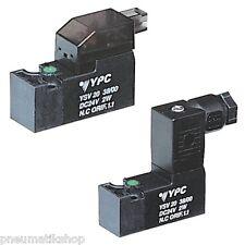 3/2-Wege Magnetventil mit Federrückstellung, Baureihe YSV20, geschlossen (NC)
