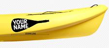 Kayak skelaton Decal Canoe Sticker River Raft White Water Sticker