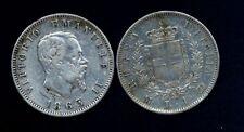1  Lira Stemma AG 1863 M  conservazione BB