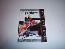 DANICA PATRICK INDY RACING JSA/COA SIGNED CARD