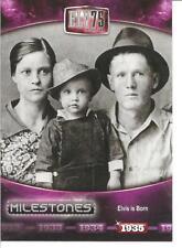 2010 Press Pass Milestones Elvis Complete Set (1-75)