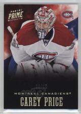 2012-13 Panini Prime Holo Silver #73 Carey Price Montreal Canadiens Hockey Card