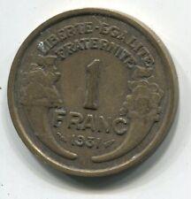 1 FRANC  MORLON CUPRO ALU 1931