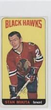 1964-65 Topps #31 Stan Mikita Chicago Blackhawks Hockey Card